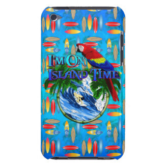 Island Time Surfing Barely There iPod Cover