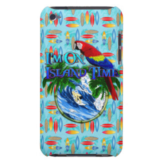 Island Time Surfing Barely There iPod Covers