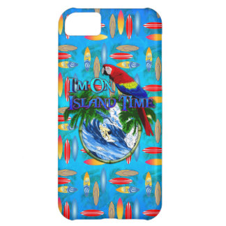 Island Time Surfing Cover For iPhone 5C