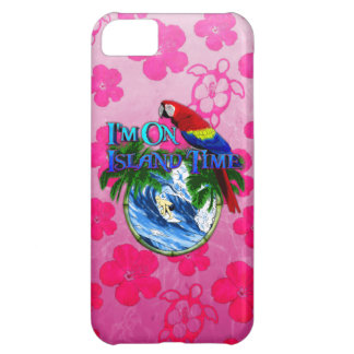 Island Time Surfing iPhone 5C Cover