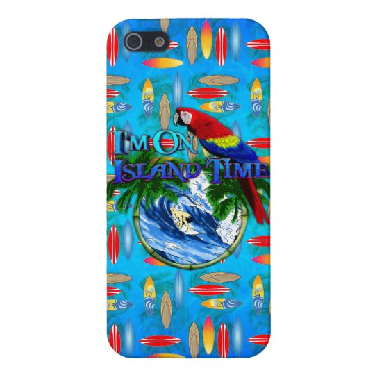 Island Time Surfing iPhone SE/5/5s Case