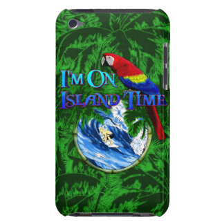 Island Time Surfing Palm Trees Barely There iPod Covers