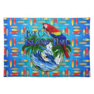 Island Time Surfing Placemat