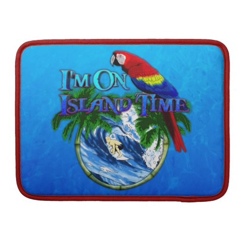 Island Time Surfing Sleeves For MacBook Pro