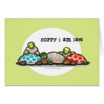 Island Time Turtles Belated Birthday Card