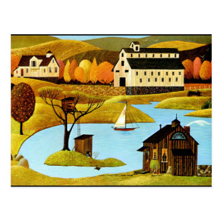 Island Treehouse Postcard