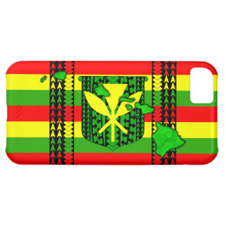Island Tribal Kanaka Maoli Flag Case For iPhone 5C