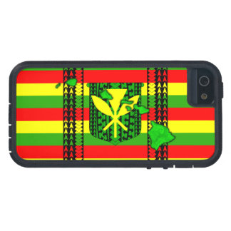 Island Tribal Kanaka Maoli Flag Case For iPhone SE/5/5s