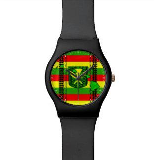 Island Tribal Kanaka Maoli Flag Wrist Watches