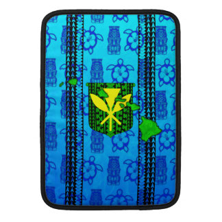 Island Tribal Kanaka Maoli MacBook Air Sleeves