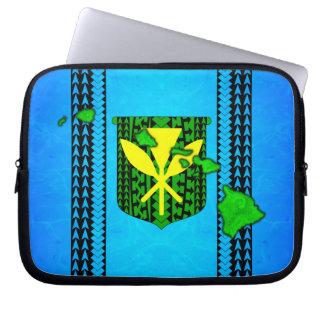 Island Tribal Kanaka Maoli Laptop Computer Sleeves