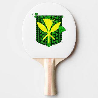 Island Tribal Kanaka Maoli Ping Pong Paddle