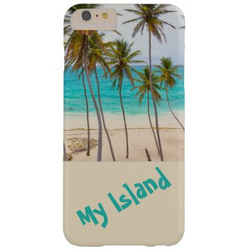 Beach Themed Island-Tropical-i-phone-case Barely There iPhone 6 Plus Case