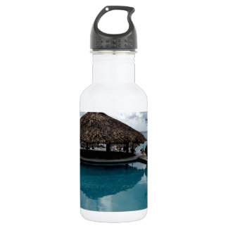 Island Vacation Stainless Steel Water Bottle