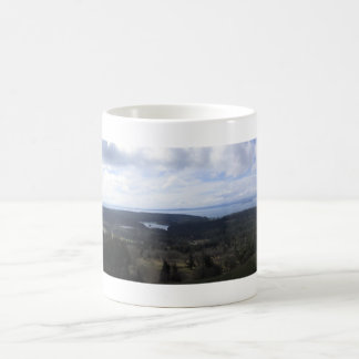 Island View Classic White Coffee Mug