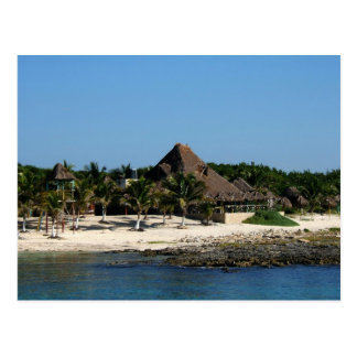 Island Village Postcard