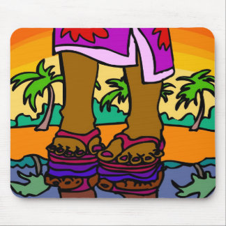 Island Welcome Mouse Pad