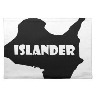 Islander Kelleys Island Ohio Lake Erie Cloth Placemat
