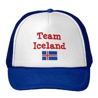islandés-bandera, equipo Islandia Gorro De Camionero