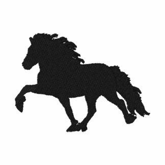 Islandés bordado negro