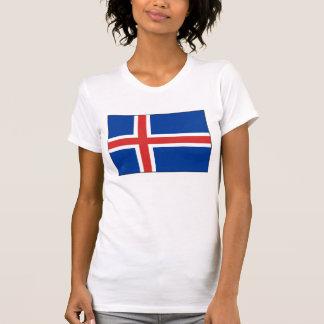 Islandia - bandera nacional islandesa camisetas