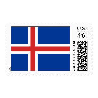 Islandia - bandera nacional islandesa envio