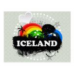 Islandia con sabor a fruta linda postales