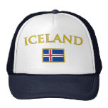 Islandia de oro gorros bordados