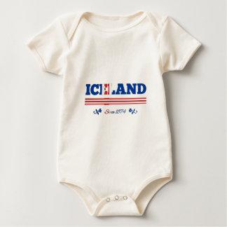 Islandia desde 1874 body de bebé