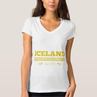 Islandia desde 1874 camisas