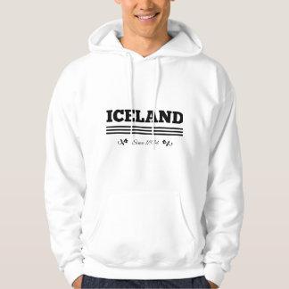 Islandia desde 1874 jersey encapuchado