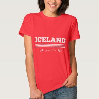 Islandia desde 1874 playera