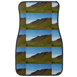 Islandia en primavera alfombrilla de auto