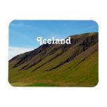 Islandia en primavera imán rectangular