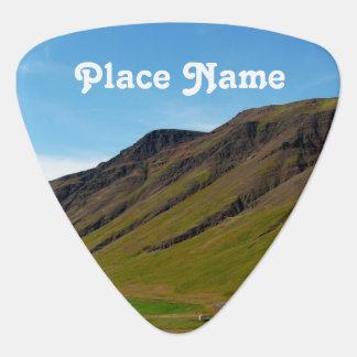 Islandia en primavera plumilla de guitarra