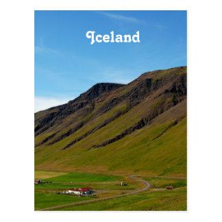 Islandia en primavera tarjetas postales