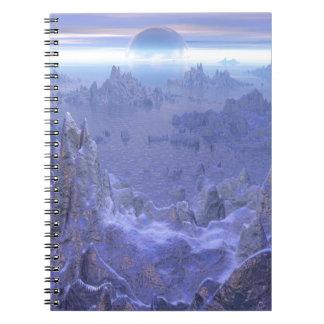 Islandia Evermore Spiral Note Book