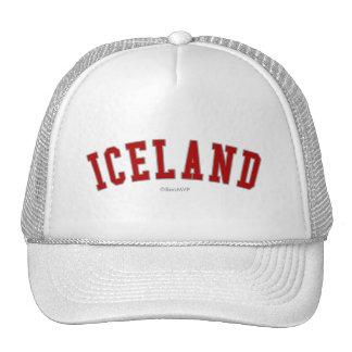 Islandia Gorra
