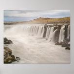 Islandia, parque nacional de Jokulsargljufur. Vist Poster