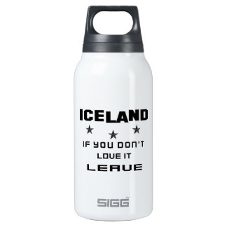 Islandia si usted no la ama, se va