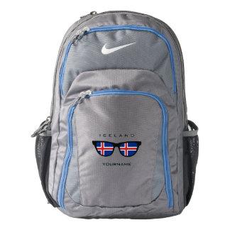 Islandia sombrea las mochilas de encargo mochila
