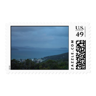 Islands And Headlands Fading Into The Drizzle At M Postage Stamps