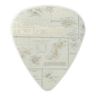 Islands, Atlantic Ocean Acetal Guitar Pick