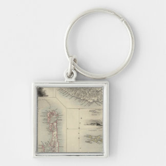 Islands In The Atlantic Keychain