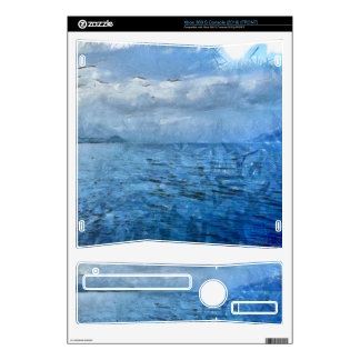 Islands in the blue sea decal for the xbox 360 s
