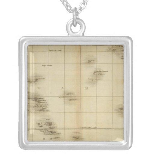Islands in the Pacific Ocean Custom Necklace