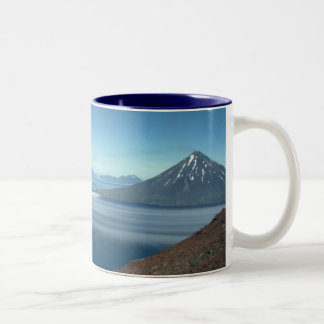 Islands of Four Mountains by Brian Anderson Two-Tone Coffee Mug