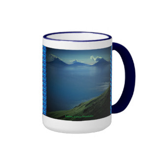 Islands of Four Mountains Ringer Coffee Mug