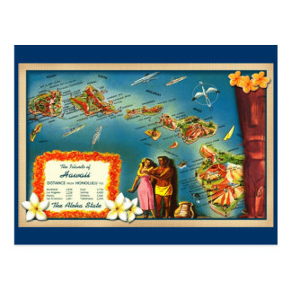 Islands of Hawaii Post Cards