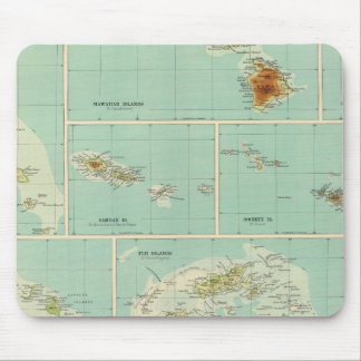 Islands of Oceania Mousepads